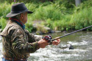 Męskie zegarki na ryby